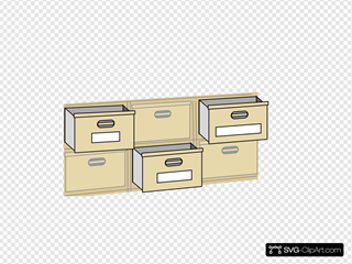 Furniture File Cabinet Drawers