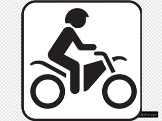 Map Symbol Motorbike