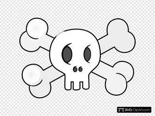 Skull With Cross Bones