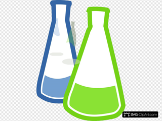 Chemistry Lab Flasks
