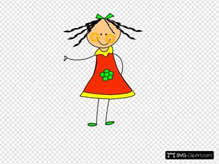 Little Cartoon Doll