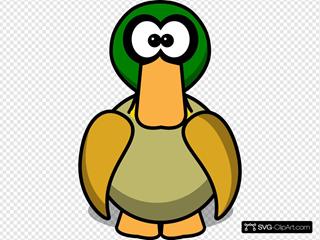 Duck Cartoon Large Pick