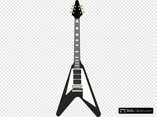 Flying V Guitar 2
