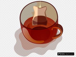 Glass Mug Of Tea