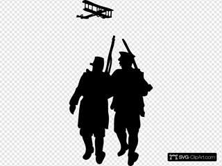 World War I Silhouette