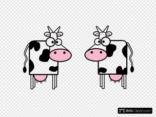 Cartoon Cows