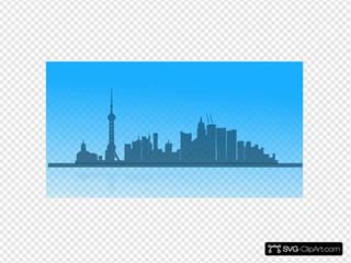Shangai City Skyline