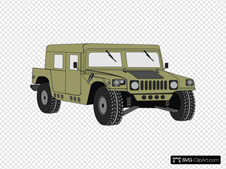 Hummer Clipart
