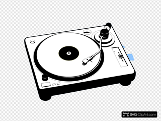 Turntable Music Player