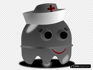 Pcman Game Baddie Nurse
