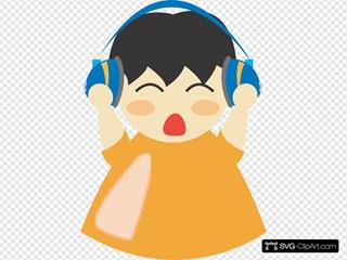 Boy With Headphones 3