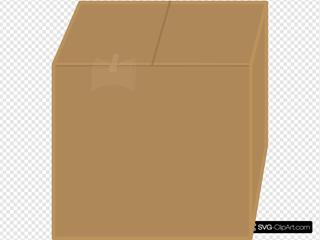 Elkbuntu Cardboard Box