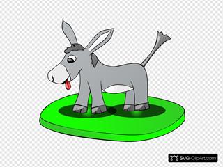 Donkey On A Plate