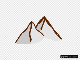 Map Symbols Mountains