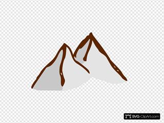 Map Symbols Mountains