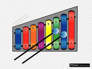 Xylophone Colourful