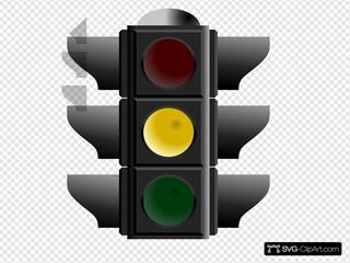 Traffic Light: Yellow
