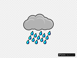 Rain Cloud Clipart clipart - Cloud, Rain, Black, transparent clip art