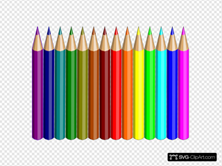 14 Colored Pencils