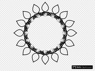 Sunflower Rosette