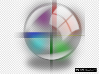Color Circle With Shadow
