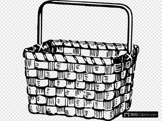 Basket SVG Clipart