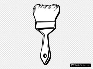 Brush Outline Coloring