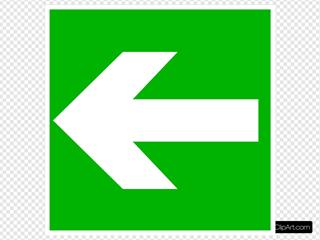 White Arrow - Left