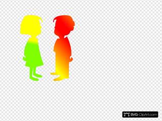 Figures Boy And Girl 7