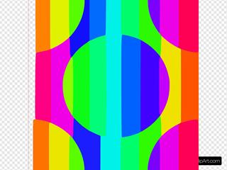 Rainbow Wallpaper Tile