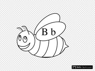 Bumble Bee Outline
