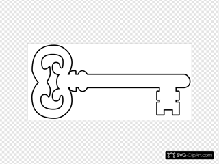 Golden Key Outline
