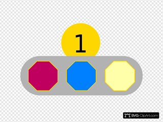 More Colored Shapes
