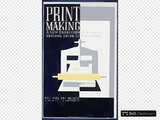 Print Making A New Tradition Featuring Original Color Lithography.