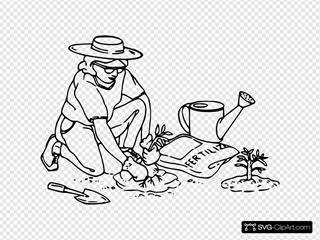 Gardener Without White Space Under
