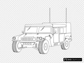 Hummer Outline