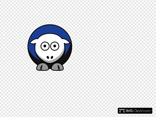 Sheep - Ipfw Mastodons - Team Colors - College Football Clipart