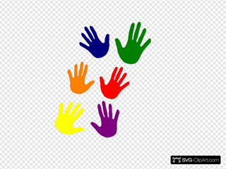 Hands - Various Colors Ladder