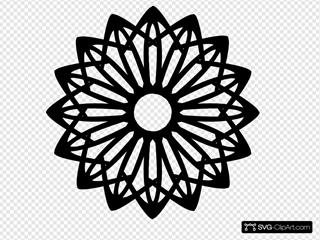 Rosette Geometric Shape