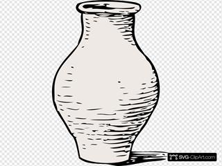 Vase SVG Clipart