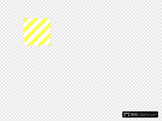 Yellow Diagonal Stripes
