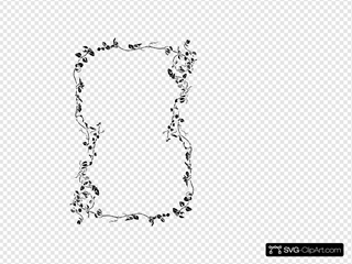 Floral Page Border