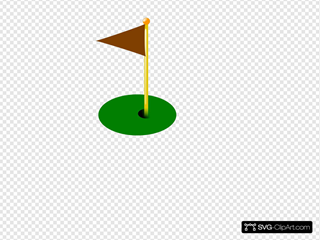 Golf Flag 9th Hole