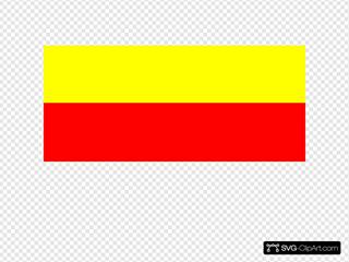 Flag Of Rojava Kurdistan