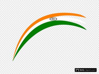 Rainbow Indian Flag