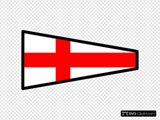 International Maritime Signal Flag 8
