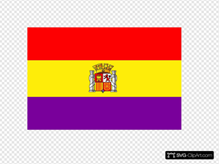 Flag Of The Second Spanish Republic