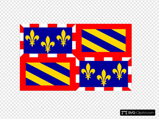Flag Of Burgundy