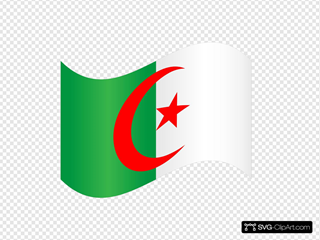 Algeria Flag SVG Cliparts