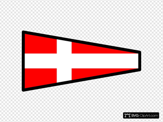 International Maritime Signal Flag 4